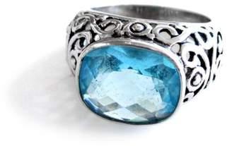 Malia Jewelry Aqua Zirconia Ring