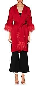 Osman Women's Eve Embellished Satin Roe - Red
