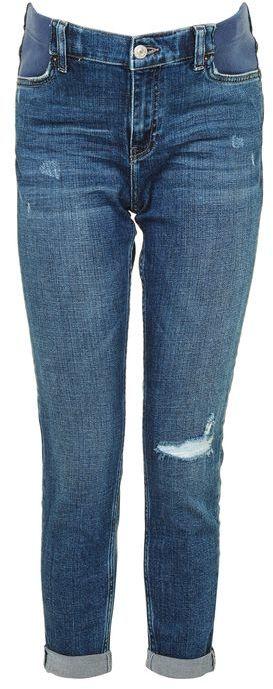 TopshopTopshop Maternity rip lucas jeans