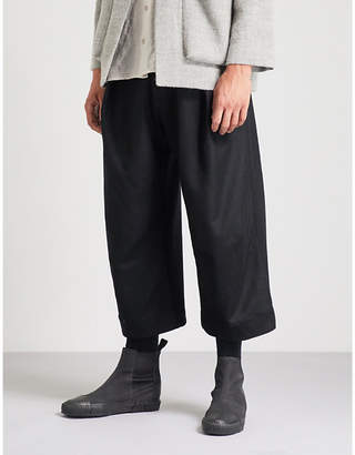 Toogood The Tinker regular-fit high-rise wool trousers
