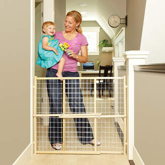 North States North StatesTM Extra-Wide Wire Mesh Gate