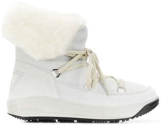 Emporio Armani Ea7 lace-up boots