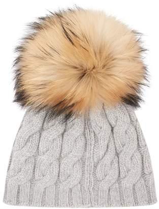 Il Gufo Fur Beanie Hat
