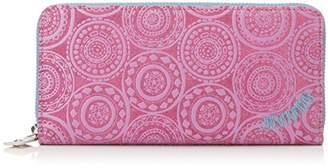 Jocomomola (ホコモモラ) - [ホコモモラ] 長財布 「アニージョ」ラウンドファスナー型長財布 5381402 62 パープル