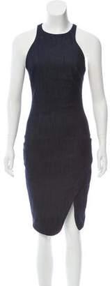 Elizabeth and James Halter Knee-Length Dress