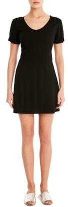 Women's Michael Stars Cutout Twist Jersey Dress $98 thestylecure.com