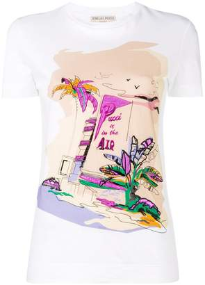 Emilio Pucci 'Pucci is in the Air' T-shirt