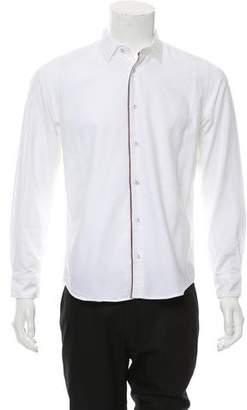 Altea Woven Button-Up Shirt