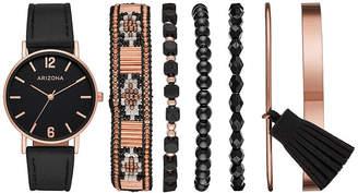 Arizona Womens Black Watch Boxed Set-Fmdarz171