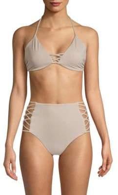 Crisscross Bikini Top