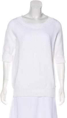 Chanel Short Sleeve Knit Sweater