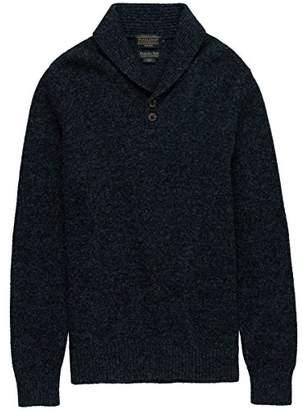 Pendleton Men's Shetland Shawl Collar Oullover Sweater