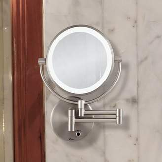 Wrought Studio Howell Lighted Wall Mount Mirror
