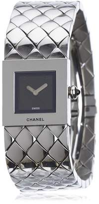 Chanel Vintage Quilted Mademoiselle Watch