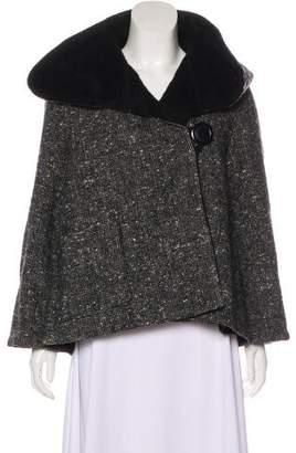 Smythe Patterned Hooded Jacket