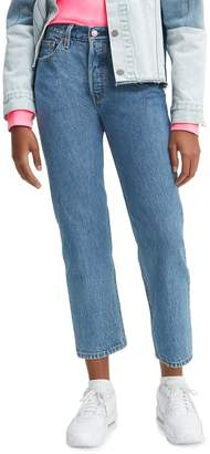 Levi's 501 Crop Lost Cause Jeans