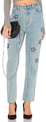 MinkPink Crystal Star Jeans.