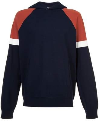Vince colour block hoodie