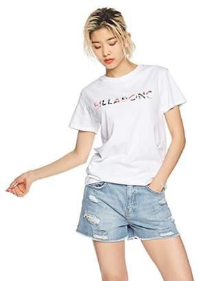 Billabong (ビラボン) - (ビラボン) BILLABONG [ レディース ] 半袖 Tシャツ (ロゴ プリント) [ AI013-203 / LOGO SS TEE ] おしゃれ AI013-203 WHT WHT_ホワイト L