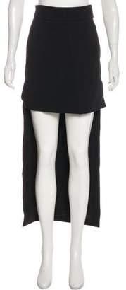 Preen by Thornton Bregazzi High-Low Midi Skirt