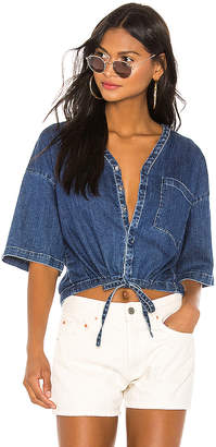AG Adriano Goldschmied Delaney Crop Top