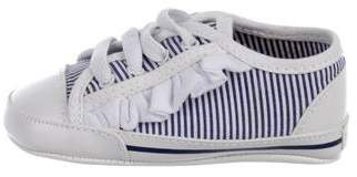 7 For All Mankind Seven Boys' Striped Low-Top Sneakers w/ Tags
