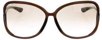 Tom Ford Oversize Gradient Sunglasses
