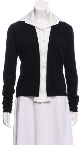 Chanel Contrasted Cashmere Cardigan