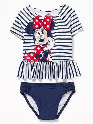 85334147873f Old Navy Disney© Minnie Mouse Rashguard Swim Set for Toddler Girls