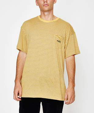 MISFIT Fan Page Short Sleeve T-shirt Washed Gold