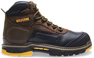 "Wolverine Men's Overpass 6"" Soft Toe Waterproof Insulated Work Boot"