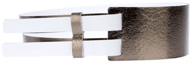 Maison Martin Margiela wide double panel belt
