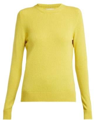 Barrie - Arran Pop Cashmere Sweater - Womens - Yellow