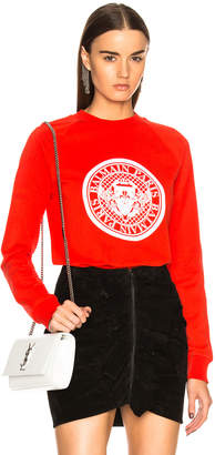 Balmain Coin Crewneck Sweatshirt