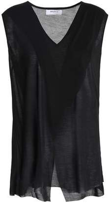 Bailey 44 Split-front Slub Modal-jersey Top