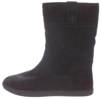Tory Burch Tory Burch Quilted Alana Boots