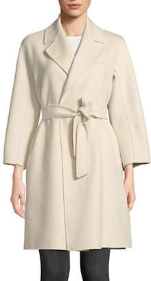Max Mara Shaila Wool-Blend Wrap Coat