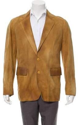 Miu Miu Woven Button-Up Jacket