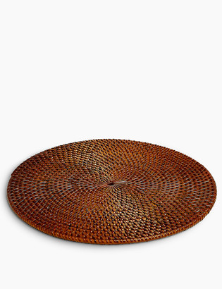 Marks and Spencer Wood Round Rattan Placemat