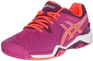 ASICS Women's GEL-Resolution 6 Tennis Shoe $49.95 thestylecure.com