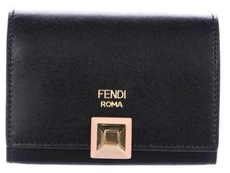 Fendi Rainbow Studs Card Case