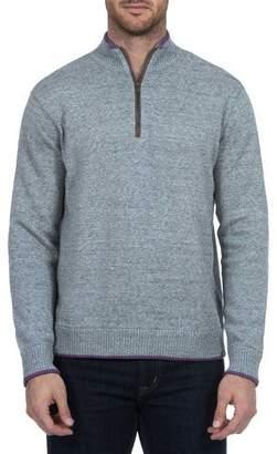 Robert Graham Men's Cavalry Quarter-Zip Sweater