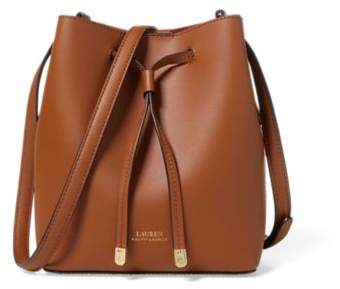 Ralph Lauren Debby Ii Drawstring Bag Field Brown/Orange One Size