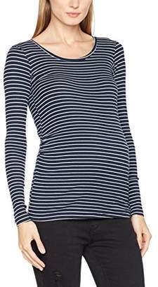 Mama Licious Mamalicious Women's Mlmind L/s Jersey Rib Long Sleeve Top,(Manufacturer Size: Large)