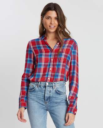Jack Wills Tilly Drapey Checked Shirt