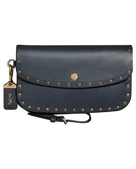 Coach Clutch With Border Rivets