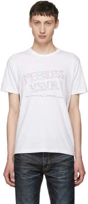 Visvim White Peerless Sketch Wide T-Shirt