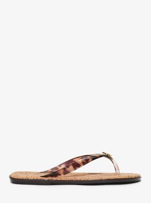 MICHAEL Michael Kors Jet Set Jelly Flip-Flop