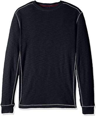 True Grit Men's Softest Cotton Slub Waffle Thermal Long Sleeve Shirts