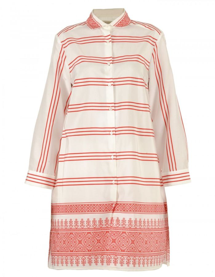 Max Mara Max Mara Cotton And Silk Dress